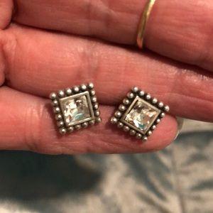 Brighton earrings silver/bling